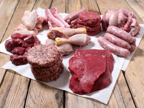 Assorted Meats - uncooked
